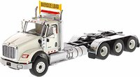International HX620 Day Cab Tridem Tractor White in 1:50 scale by Diecast Masters