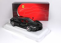 Ferrari LaFerrari DIE CAST Met Black Daytona in 1:18 scale by BBR