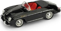 1952 Porsche 356 Speedster black in 1:43 scale by BRUMM