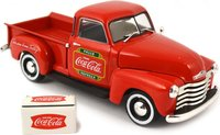 1953 Chevy Pickup with metal cooler in 1:43 scale by Motor City Classics