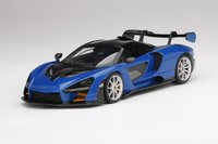 McLaren Senna  Antares Blue in 1:18 Scale by TopSpeed