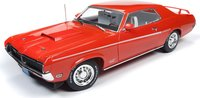 1969 Mercury Cougar Hardtop (50TH Anniversary of the Boss Fords) in 1:18 Scale by Auto World