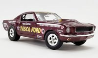 1965 Ford Mustang A/FX - Tasca Ford Diecast Model by Acme in 1:18 Scale