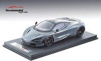 2017 McLaren 720S in Grey Resin Model in 1:18 Scale by Tecnomodel