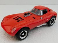 Cheetah Street Car Red in 1:18 scale by Replicarz