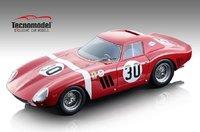 Ferrari 250 GTO Sebring 12 hours 1964 NART David Piper in 1:18 Scale by Tecnomodel DNU