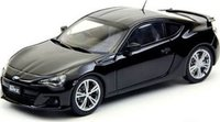 Subaru BR-Z in Black  in 1:18 Scale by AUTOart