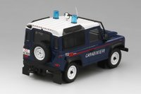 "Land Rover Defender 90"" Station Wagon Carabinieri Model Car in 1:43 Scale by Truescale Miniatures"