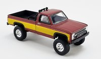 1986 Chevrolet K2500 Stunt Double Fall Guy Tribute in 1:64 Scale by Greenlight