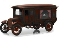 1921 Ford Model T Ornate Carved Hearse in 1:18 Scale by Greenlight