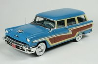 1956 Mercury Monterey Lauderdale blue in 1:43 Scale by Goldvarg Collection