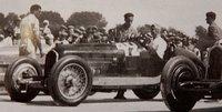 Alfa Romeo P3 Chiron, 1933 Marseille GP Winner #42 in 1:18 Scale by CMC