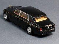 2012 Rolls-Royce Phantom Sedan LWB in Diamond Black Model Car in 1:43 Scale by Truescale Miniatures