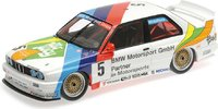 BMW M3 3RD place Macau 1990 in 1:18 Scale by Minichamps