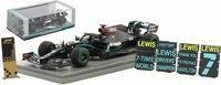 Lewis Hamilton 2020 World Champion Winner Turkish GP in 1:43 scale by Spark