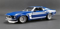 1969 Boss 302 Trans Am Mustang Diecast Model in 1:18 Scale by Acme