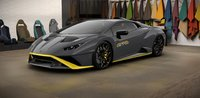 Lamborghini Huracan STO Grigio Titans in 1:18 Scale by MR Collection