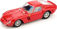 1962 Ferrari 250 GTO in Racing Red Model Car in 1:43 Scale by Brumm