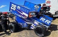 2021 #26 Hager Realty/ Rudeen Racing  Cory Eliason in 1:64 Scale by Acme