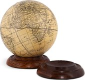Globe Base, Wood by Authentic Models