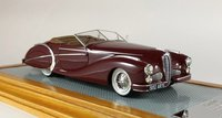 1949 Delahaye 135MS Roadster Saoutchik in 1:43 scale by Ilario