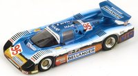 1985 Sauber C 6 No. 95 Le Mans Model Car in 1:43 Scale by Spark