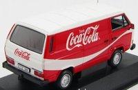 1983 Volkswagen T3 Kastenwagen - Coca Cola Diecast Model in 1:43 Scale