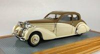 1937 Bugatti T57 Coach Ventoux Gangloff Original Car Resin Model in 1:43 Scale by Ilario