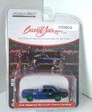 1979 Plymouth Cuae Custom (green wheels) Barret Jackson Series in 1:64 scale by Greenlight