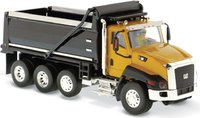Cat® CT660 Dump Truck Yellow in 1:50 scale by Diecast Masters