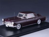 1956 Continental Mark II Cabriolet Hardtop Maroon Resin Model in 1:43 Scale by GLM