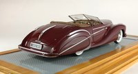 1949 Delahaye 135MS Roadster Saoutchik Paris Show 1949 Resin Model in 1:43 Scale by Ilario