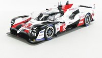 2019 Toyota #8 TS050 HYBRID Le Mans Winner in 1:18 Scale by Spark