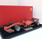 Ferrari SF90 No. 5 2nd Canadian GP 2019 in 1:18 Scale by Looksmart
