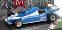Ligier JS11 F1 #26 1979 in 1:43 Scale by CMR