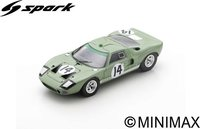 Ford GT40 No.14  24H Le Mans 1965  J. Whitmore - I. Ireland in 1:43 scale by Spark