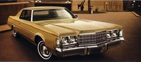 1974 Chrysler Newport Dark Brown Resin Model Car in 1:43 Scale by GLM