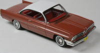 1961 Pontiac Catalina  Rose Metallic in 1:43 scale by Goldvarg Collection