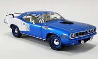 1971 Plymouth Hemi Cuda in 1:18 Scale by Acme