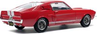 1967 Ford Mustang Shelby GT500 Red Diecast Model in 1:18 Scale by Solido