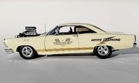 1967 Ford Fairlane 427 SOHC White Lightning in 1:18 Scale by GMP