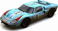 1966 Ford GT40 Mk II Ken Miles End of Race in 1:18 Scale by Shelby Collectibles