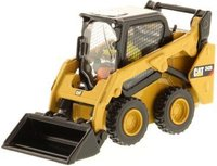 Cat® 242D Skid Steer Loader in 1:50 scale by Diecast Masters