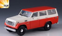 1979 Toyota Land Cruiser FJ55 in red in 1:43 scale by GLM