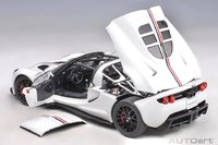 HENNESSEY VENOM GT SPYDER (WORLD FASTEST EDITION) white in 1:18 scale by AUTOart