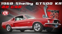 1968 SHELBY GT500 KR KING OF THE ROAD in 1:18 scale by Acme