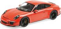2016 Porsche 911 R Lava Orange in 1:12 Scale by Minichamps