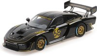 2020 Porsche 935/19 Black With Gold Stripes in 1:18 Scale by Minichamps