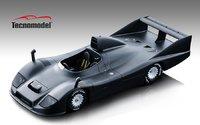 Porsche 936  1977 Test Version Matte Black in 1:18 Scale by Tecnomodel