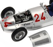 1939 Mercedes Benz W 165  Start No. 24 GP of Tripolis by CMC in 1:18 Scale